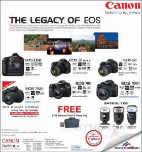Canon EOS Promotion in Colombo Sri Lanka – December 2013