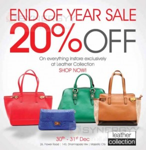 Cotton Collection 20% off on 30th and 31st December 2013