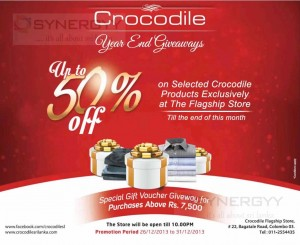 Crocodile Year End Sales – Discounts Upto 50%