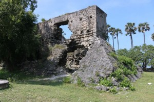 Dutch Fort (Meekaman Fort) in Delft island