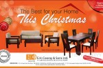 E.H. Cooray & Sons Furniture Christmas Sale