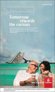 Emirates Senior Citizen Promotions Booking Open till 31st January 2014