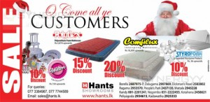 Hants Christmas Sale – Discounts upto 20% till stock last