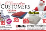 Hants Christmas Sale – Discounts upto 20% till stock last