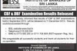 Institute of Bankers of Sri Lanka CBF & DBF Examination Results Released today – Check it now at www.ibsl.lk