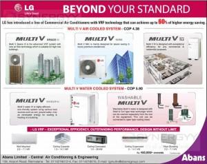 LG Range of Commercial Air Conditioners Prices in Sri Lanka