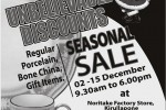 Noritake Seasonal Sale from 2nd to 15th December 2013