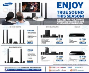 Samsung Home Theatre System for sale – December 2013
