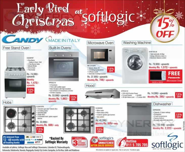 Softlogic home appliances christmas sale till st
