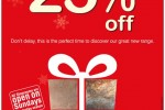 Up to 25% Discount for this Christmas from Lanka Tiles