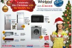 Whirlpool Home appliances Christmas seasonal Promotions and Offers
