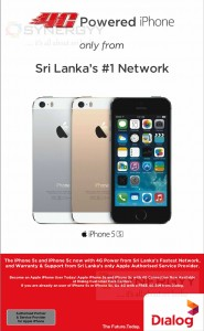 iPhone 5s and 5c now available in Sri Lanka at Dialog