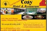 Cosy Hotel & Restaurant in Jaffna