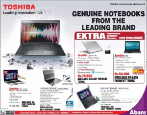 Toshiba Laptop Prices in Colombo Sri Lanka – January 2014