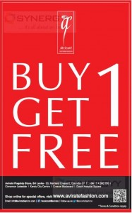 Avirate Buy 1 Get 1 Free Promotion