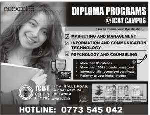 Diploma Programme at ICBT Campus – February 2014