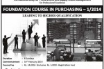 Purchasing and Supplies management courses in Sri Lanka – Foundation Course in Purchasing 1/2014