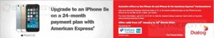 iPhone 5s from Dialog – 24 Months Installment scheme for AMEX