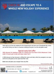 Centara Hotels & Resorts Check in and escape to a whole new holiday experience