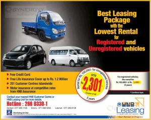 HNB vehicle Leasing promotion – March 2014