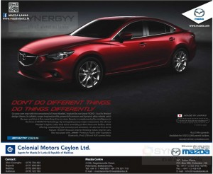 Mazda Skyactiv 2.5G/2.0G for Rs. 6.3 Million Upwards – March 2014