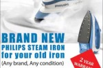 Philips Steam Iron Box for Rs. 2,900.00 – Buy Back Promotion