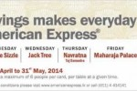 30% savings makes everyday a special day to dine out with American Express