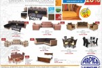 Arpico Furniture New Year Sales – Discounts Upto 20% till April 2014