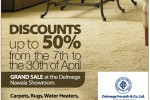 Delmege Forsyth & Co Sales Promotion – Discounts Upto 50% from 7th to 30th April 2014