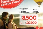 Fly Kuala Lumpur for Rs. 8,500.00 for one way from Air Asia