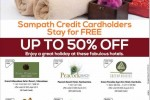 Hotels offer for Sampath Credit Card