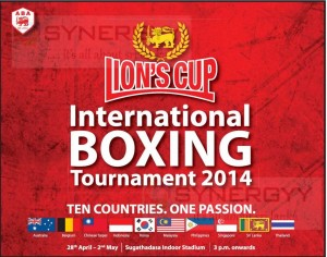 International Boxing Tournament 2014 from 28th to 2nd May 2014