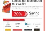 Ladies, get fashionized this week! – 7th to 12th April 2014 with HSBC Credit Card