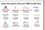 Month of April Hotel Promotions for HSBC Credit Cards