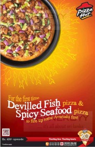 Seafood Pizza now at Pizza Hut Srilanka