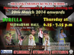 Shaolin Kung Fu Classes in Colombo Srilanka