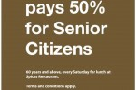 Spices Restaurant at Hilton Colombo offers 50% off to Senior Citizens