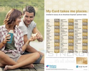 American Express Credit Card Promotion for Hotels till December 2014