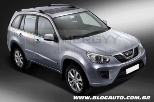 Chery Tiggo SUV now available in Srilanka for Rs. 3,895,000.00 for Permit Holder