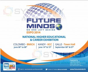 Future Mind Expo 2014 in Colombo, Kandy and Galle