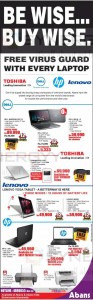Latest Laptop Promotion from Abans Srilanka
