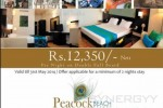Peacock Beach Resorts for Rs. 12,350/- Net till 31st May 2014