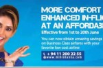 35% Discount on your Business Class booking from Mihin Lanka- Offer Valid from 1st to 20th June 2014