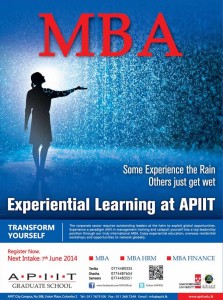 APIIT MBA – Enrolment calls now for June batch