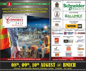 Construction Exhibition 2014 at BMICH from 8th to 10th August 2014