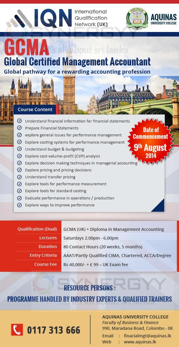 Gcma Global Certified Management Accountant Courses From