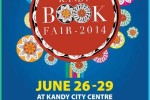 Kandy Book Fair 2014 from 26th to 29th June 2014 at Kandy City Centre
