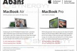 MacBook Air 2014 and MacBook Pro Introductory Price from Abans – Prices are valid till 15th June 2014