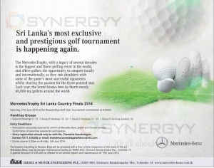 Mercedes Trophy Sri Lanka Country Finals 2014 – Invitation Calls now – Apply before 16th June 2014