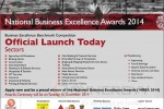 National Business Excellence Awards 2014 – Applications calls now